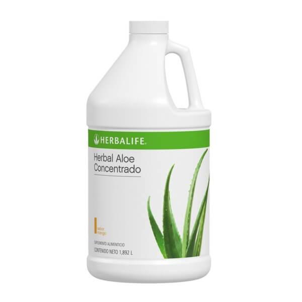 Herbal Aloe Concentrado 1.898 L. Herbalife sabor Mango