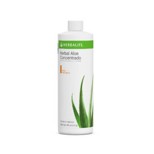 Herbal Aloe Concentrado 473ml Herbalife sabor Mandarina Cítrica