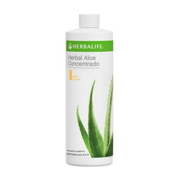 Herbal Aloe Concentrado 473ml Herbalife sabor Mango