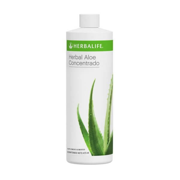 Herbal Aloe Concentrado 473ml Herbalife sabor Natural