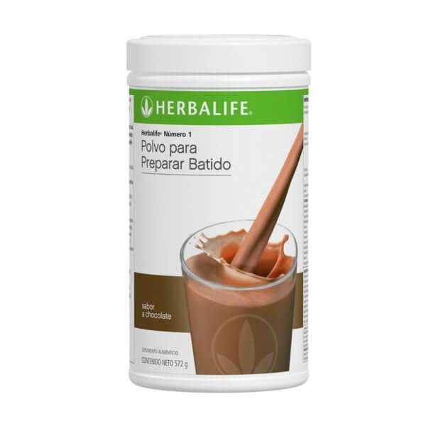 Malteada Número 1 Herbalife sabor Chocolate