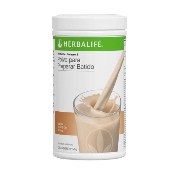 Malteada Número 1 Herbalife sabor Dulce de Leche