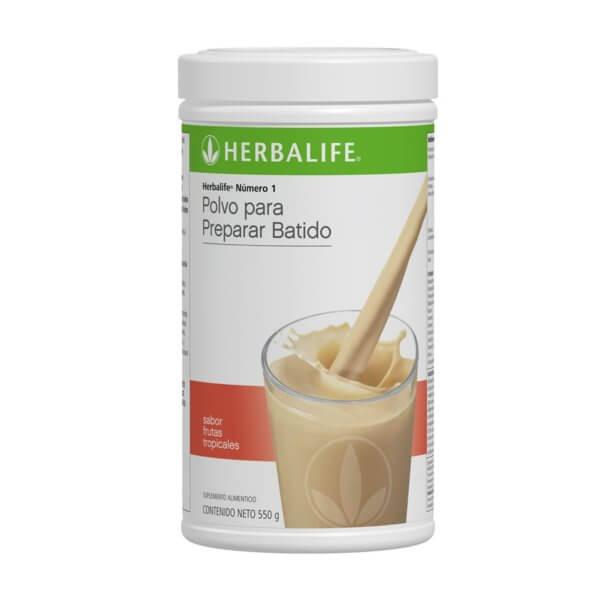 Malteada Número 1 Herbalife sabor Frutas Tropicales