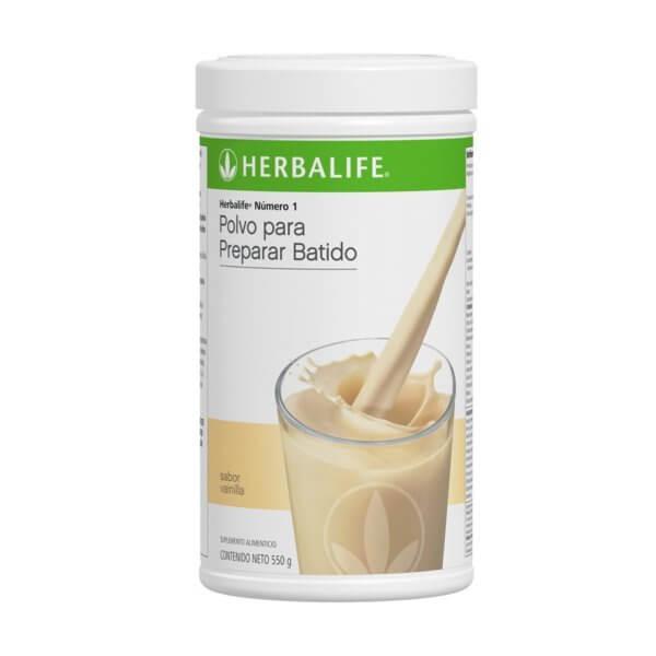 Malteada Número 1 Herbalife sabor Vainilla
