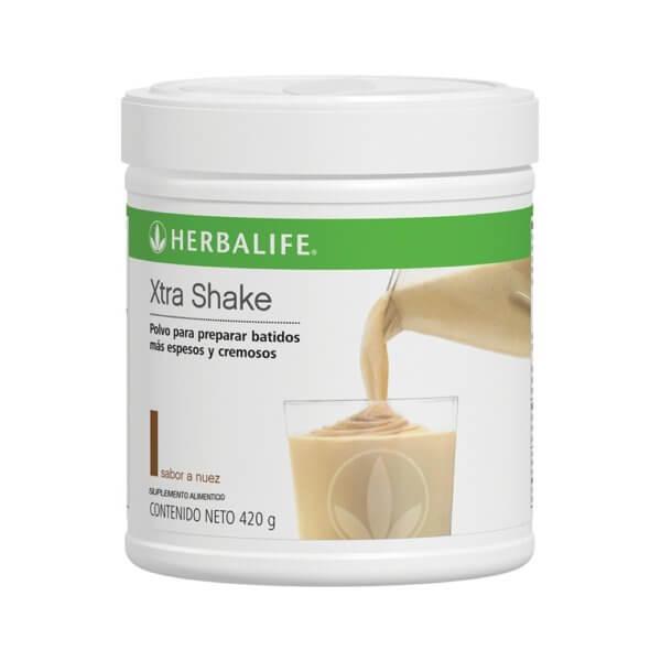 Polvo para Malteadas Xtra Shake Herbalife sabor Nuez