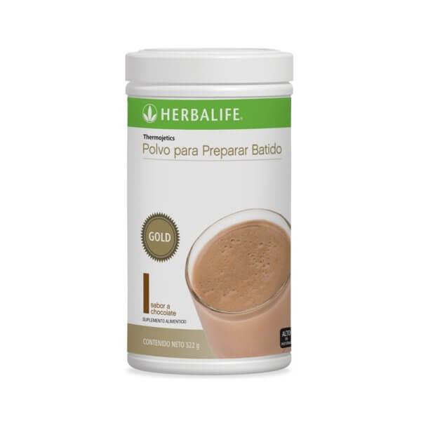 Thermojetics Gold Herbalife sabor Chocolate