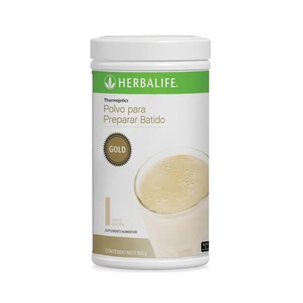 Thermojetics Gold Herbalife sabor Vainilla