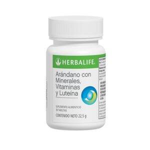 Arándano con Minerales, Vitaminas y Luteína 30 tab. 22.5g Herbalife