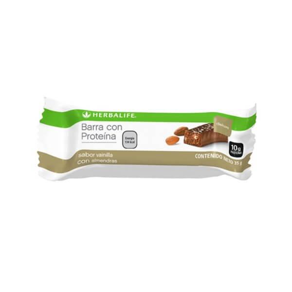 Barritas Deluxe con Proteína Herbalife sabor Vainilla con Almendras