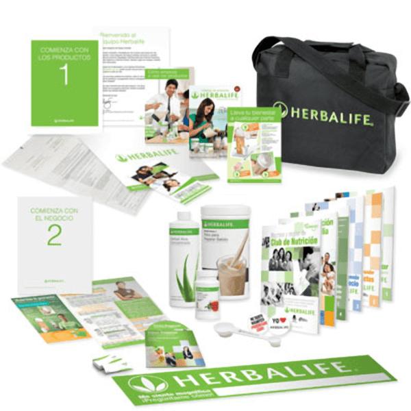 Pack Completo de Bienvenida al Distribuidor Herbalife