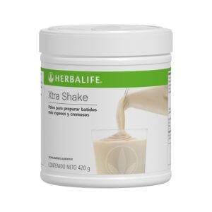 Polvo para Malteadas Xtra Shake Herbalife sabor Natural