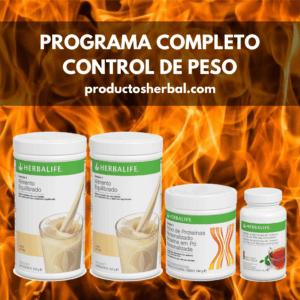 Programa Completo Control De Peso Herbalife