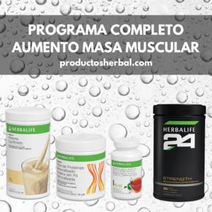Programa Completo Aumento Masa Muscular